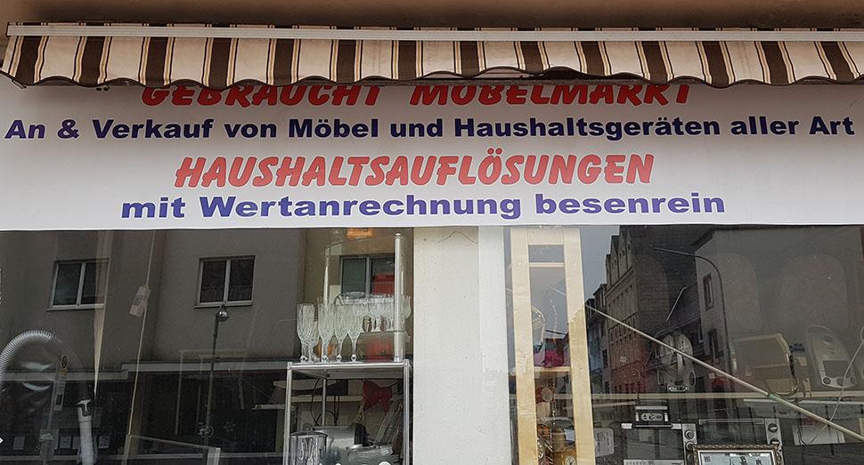 Ladengeschäft Gebrauchtmöbel Markt An Und Verkauf Von Gebrauchten